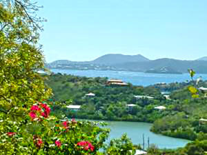 Views of Hart Bay, St. Croix & St. Thomas