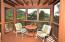 Lower Bedroom Outdoor Seating