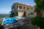 Heated pool, spa and view to BVI