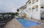Pool deck & main villa