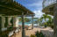 Architecturally Styled Outdoor Dining and Pool Area