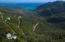 Panoramic ocean and hillside views