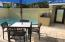 Poolside dining & grilling station in a private courtyard setting. Photo of actual unit 4314.