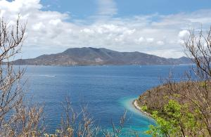 View across Haulover Bay to British Virgin Islands - Tortola