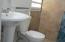 New bathroom fixtures and tiles