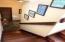 Custom mahogany interior staircase