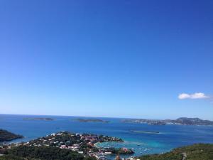 Views from this beautiful Caneel Hill Property overlooking Cruz Bay and VI Islands beyond