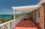Large covered porch with panoramic 180 degree views