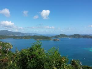 Captivating views to the British Virgin Islands