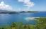 View over Johnson's Bay to BVI