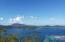 View of Tortola, BVI over Hurricane Hole St. John