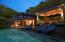 Pool Deck and Cabana at Twilight