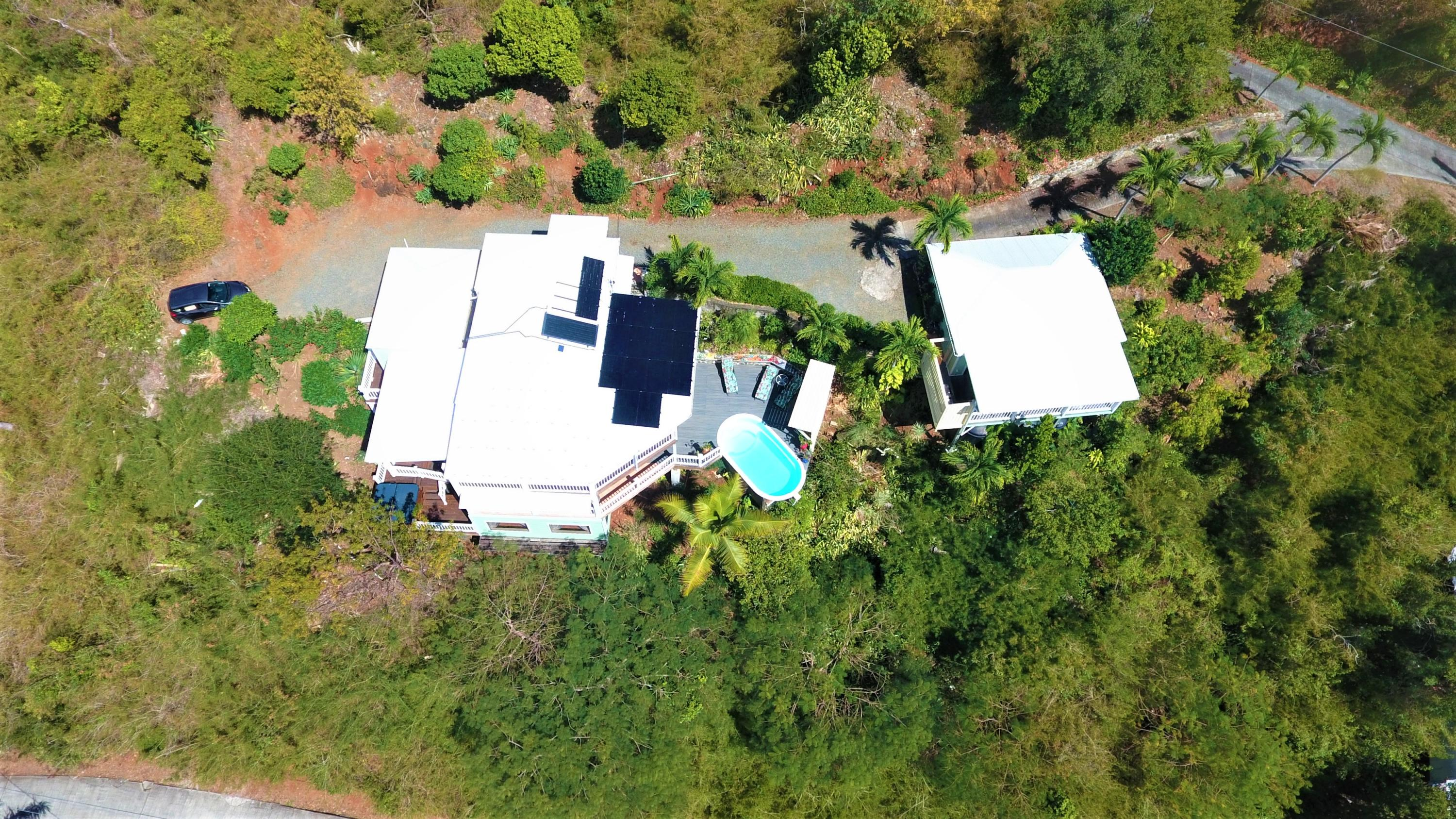 MGH Plus Cottage over view drone