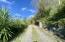 Flat driveway