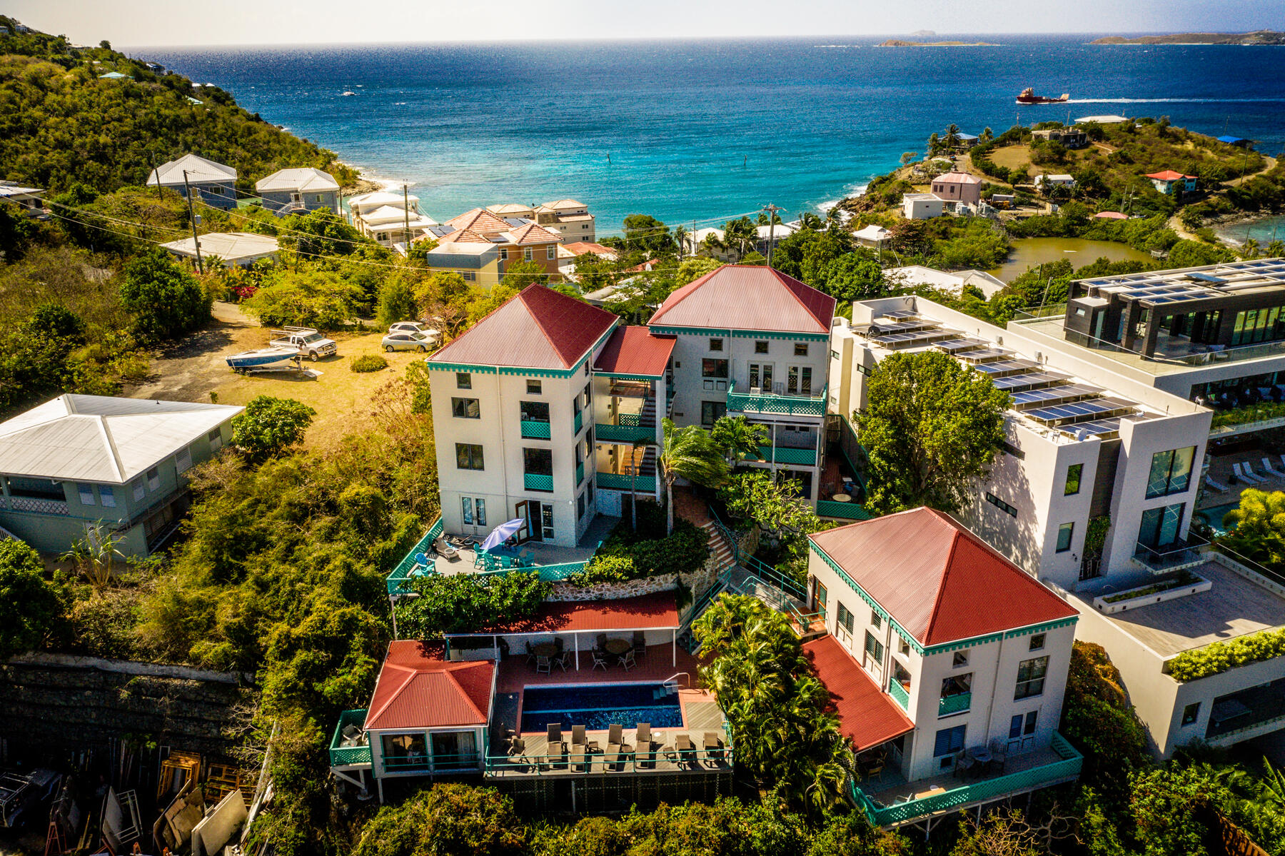 RE/MAX real estate, US Virgin Islands, Chocolate Hole and Greater Cruz Bay Estate, New Listing  Condo  Cruz Bay Town