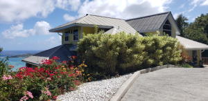 Paved access from Cruz Bay to your front door