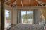 Bedroom with direct deck access and views!