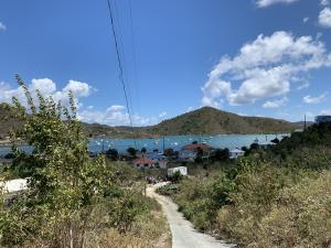 View to Coral Bay Harbor