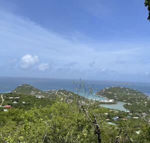 Views over Chocolate Hole and Great Cruz Bay