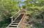 Stairs to viewing area