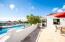 Courtyard overlooks pool