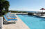 Large pool and deck areas