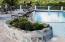 Planter on pool deck