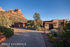 Exquisite and Private Contemporary Southwest Home Designed With Elegance and Gracious Living in mind...
