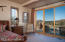 Private deck entrance off master bedroom with Sedona red rock views...