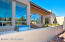 Patio with water feature/grill/views/fireplace