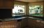 Kitchen, gas range