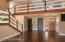 Birch Hardwood Flooring; Foyer; Library Nook With Built-In Shelving; Modern + Open Loft