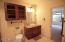 2nd Master double door bath.