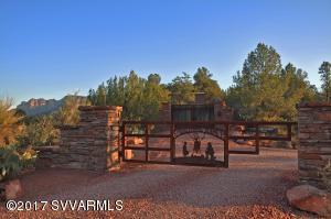 Entrance to Smoke Trail Ranch