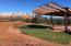 76 Acres of Sedona City Park adjoins the back lot line