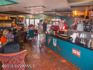 Interior of former Java Love Coffee Shop
