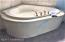 Large Jetted Tub in Master