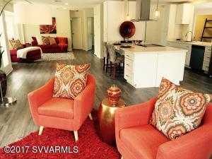 Living Large - wide and spacious with multiple seating & dining areas.