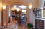 From Formal Dining area looking into Gourmet Kitchen.