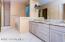 Custom Cabinetry, dual sinks, beautiful granite counters, separate tub & shower