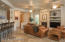 Entrance lobby brings you into large main open space room