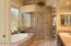 Master Bath, steam shower