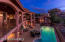 Lap Pool/Play pool and numerous areas for outdoor dining and relaxing.