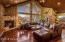 Imagine quiet evenings in this gorgeous living space.