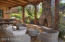 Outdoor Kitchen, Fireplace, BBQ, Lounging Creek Patio