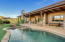 Paradise of a backyard that backs right up to the Red Rock State Park!