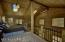 Open, yet incredibly private. Beautiful lofted ceiling with skylights.