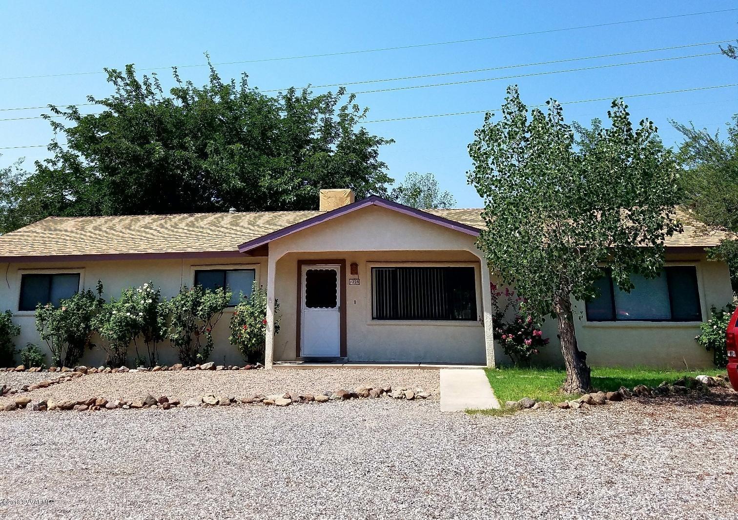 1228 Pioneer Drive Cottonwood, AZ 86326
