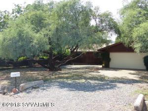 Beautiful mature mesquite trees