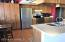 Stainless Steel Refrigerator included